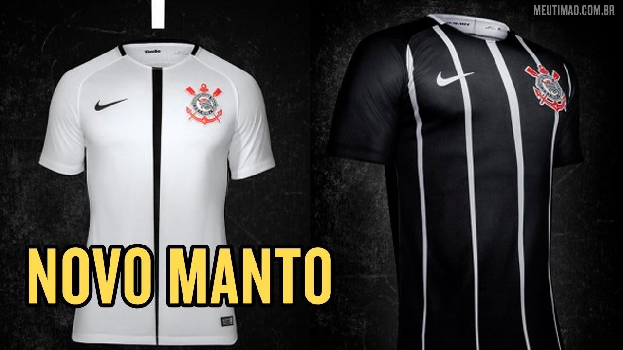 bb1be81663 Corinthians lança novas camisas para o restante da temporada - YouTube
