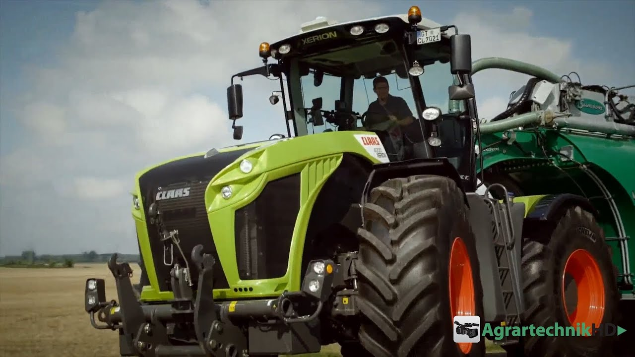agritechnica special - claas xerion 4000 - youtube