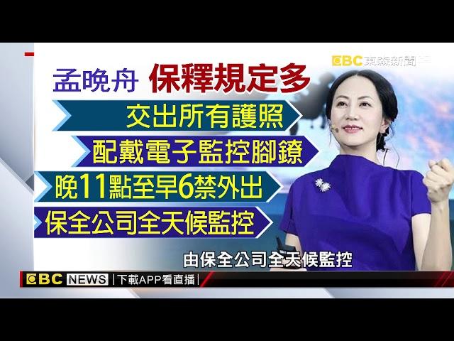 「以華為為傲」 孟晚舟2.3億台幣保釋後首發文