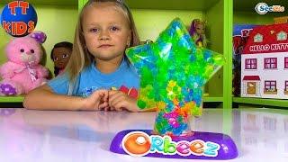 ОРБИЗ Светильник с Разноцветными Шариками «Волшебная Звезда» Ночник Orbeez Light-Up Star