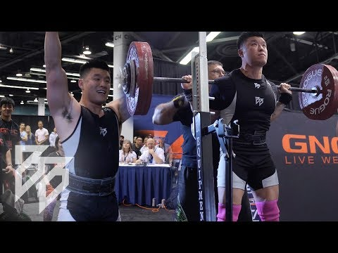 BART KWAN'S USAPL POWERLIFTING COMPETITION!