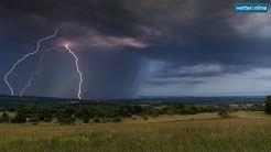 ‼️ Unwettergefahr bleibt hoch – neuer Regen 🌧️ kommt (16.06.2020)