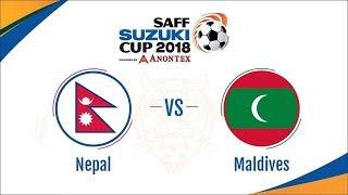 Nepal vs Maldives Semifinal Live | SAAF 2018