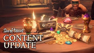 Legends of the Sea: Official Sea of Thieves Content Update