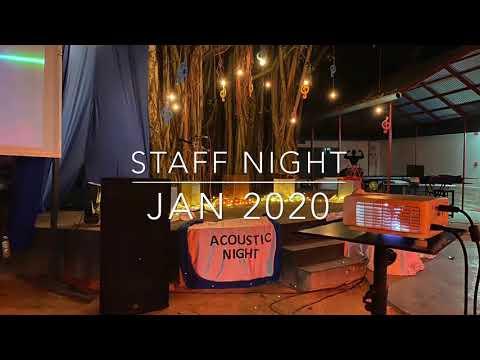 Staff night Jan 2020