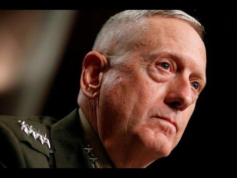 President Donald Trump Swears In General James Mad Dog Mattis as Secretary of Defense
