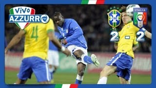 Brasile-Italia 2-2 (21 marzo 2013)