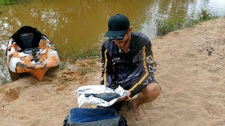 Sooty Grunter Catch n Cook - Kayak Fishing