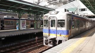 南海高野線 北野田駅 6300系(6311編成)快急 橋本行 発車