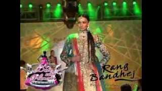 Thinking Beans Fashion Show - bridal lehengas Round 1.mp4