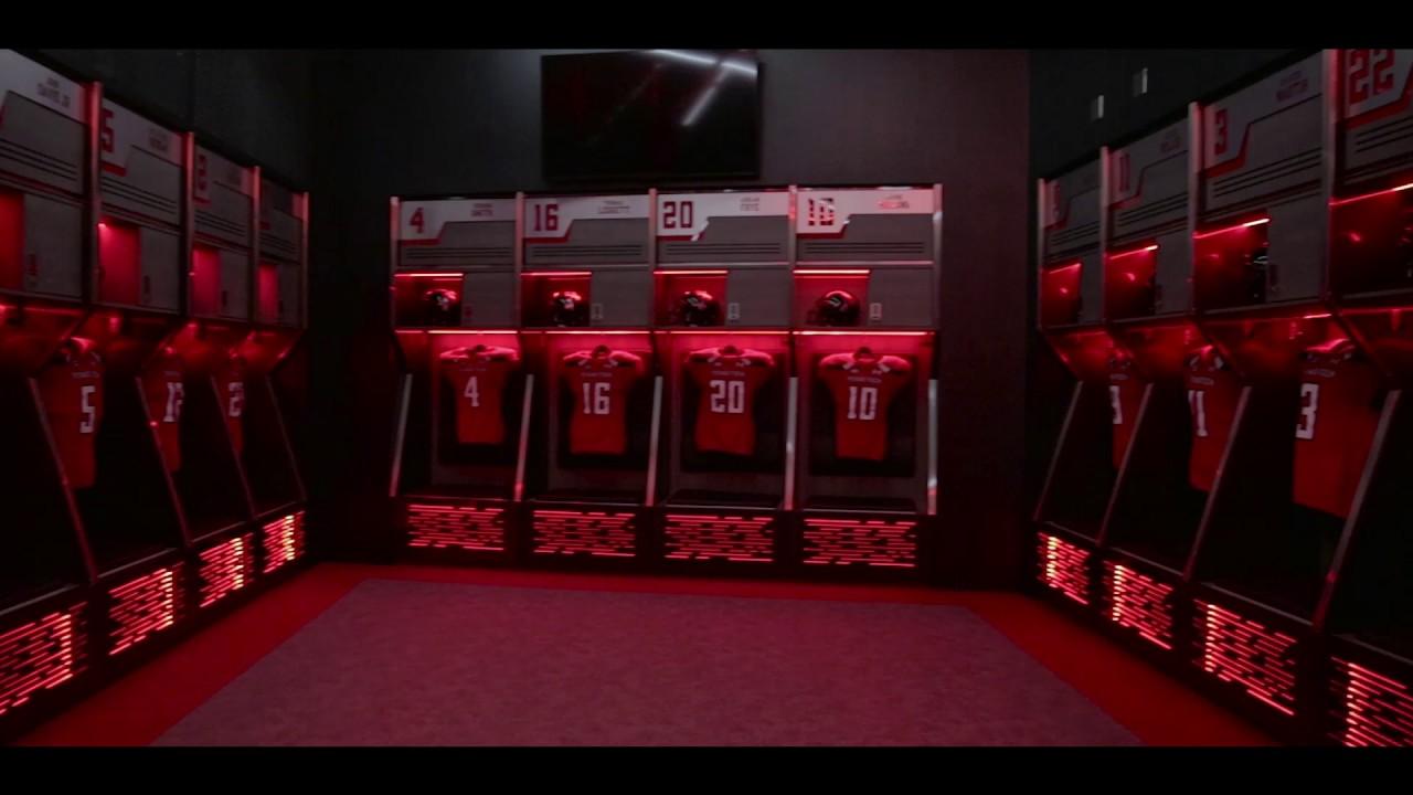 Texas Locker Room Football