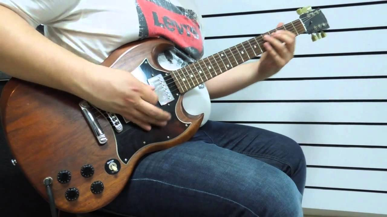gibson sg special faded worn brown youtube. Black Bedroom Furniture Sets. Home Design Ideas