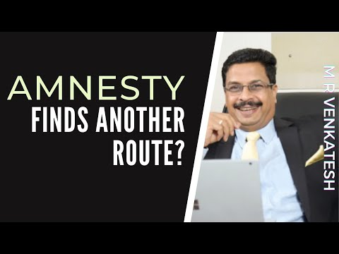 Economic Intelligence unit need of the hour to monitor Amnesty and other NGOs says M R Venkatesh
