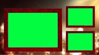 231 ALTIN ARKA PLAN | YEŞİL ANAHTAR VİDEO KARE FULL HD BG || DMX HD BG