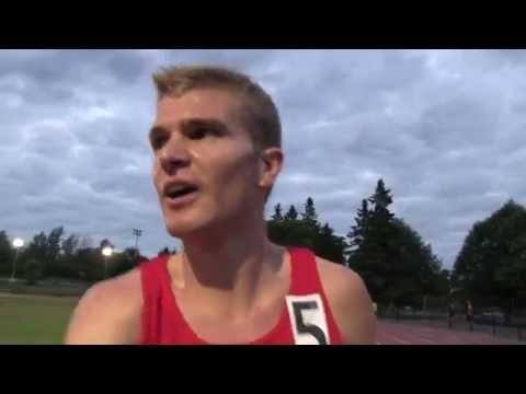 Tommy's Personal Best 4:11 1500m at Ottawa Twilight Meet June 22 2016