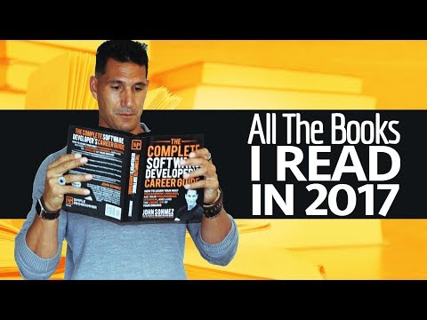 All The Books I Read In 2017