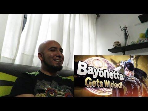 Reacción a la última presentación de Smash Bros. (Corrin y Bayonetta)