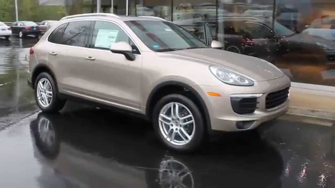 2016 Porsche Cayenne Palladium Metallic Stock 110411