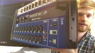 Unboxing Soundcraft UI24R