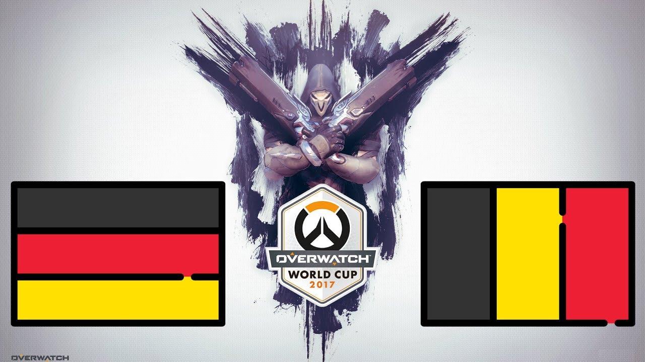 Overwatch World Cup 2021 Bracket
