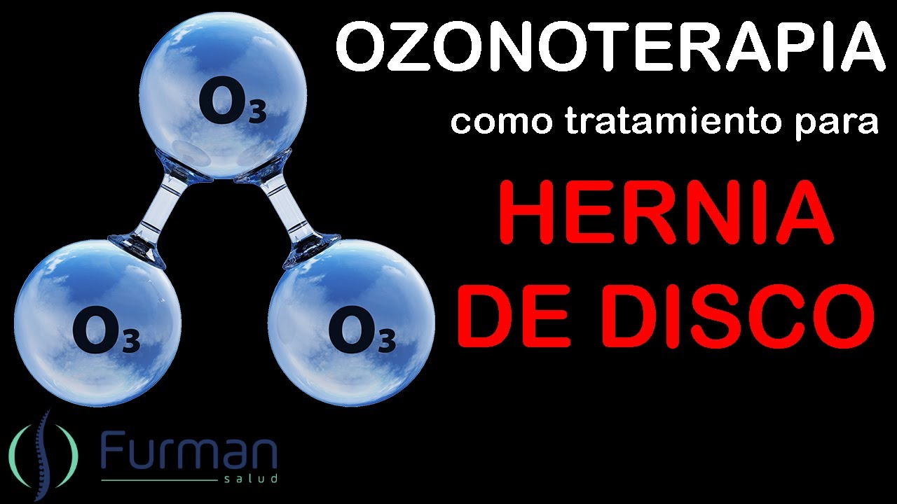 Tratamiento ozonoterapia hernia discal