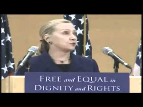 Hillary Clinton's United Nations Speech - LGBT Rights.