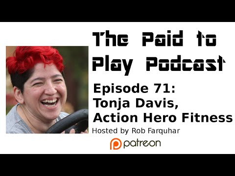 Tonja Davis, Action Hero Fitness - Episode 71