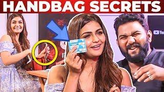 'CRIMINAL Aadhaar Card' Inside Arthi Venkatesh's Handbag Revealed | What's Inside the Handbag?