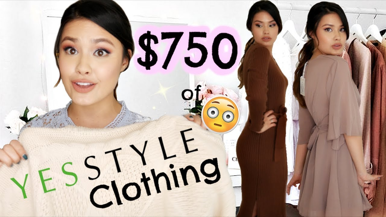 $7 OF CLOTHING FROM YESSTYLE HAUL  QUALITY REVIEW + TRY-ON!