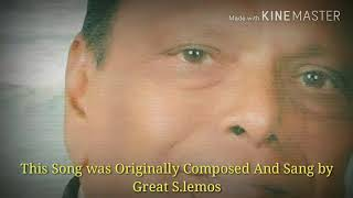 Goan Konkani Legend S.Lemos