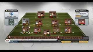 Sorting Your Squad and Menu Overview FIFA 13 Ultimate Team