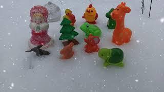 Трактор и Дед Мороз Однажды в России Тракторенок мультик Новогодняя история ОЗОРНЫЕ ДРАКОШИ