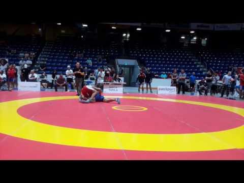 2016 Canada Cup: 97 kg Nishanpreet Randhawa (CAN) vs. Kyle Bonk-Dann (CAN)