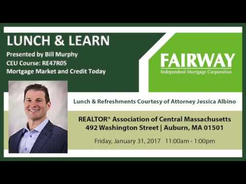 Lunch & Learn: Mortgage Market and Credit Today