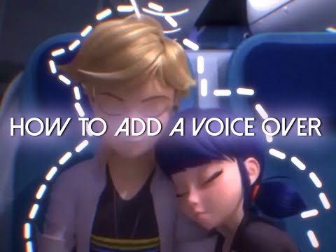 How to add voiceovers