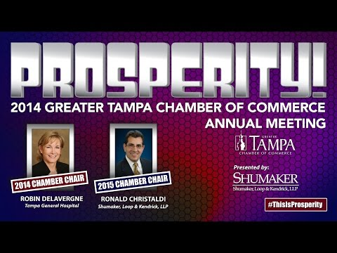 PROSPERITY! 2014 Greater Tampa Chamber of Commerce Annual Meeting