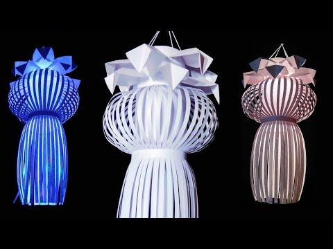 Diwali, New year & Christmas decoration idea   paper lantern   lantern for diwali   Paper lampshade