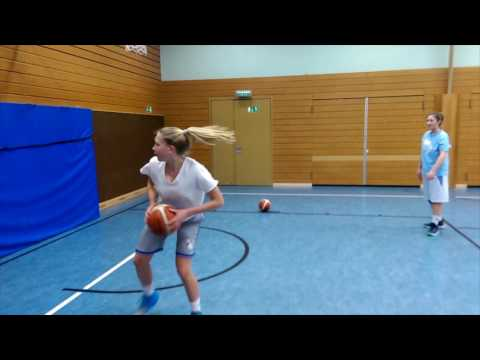 Great Basketball Rebound Drill for youth teams  The second Chance Drill