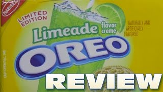 Limeade Oreo Cookie Review - Oreo Oration