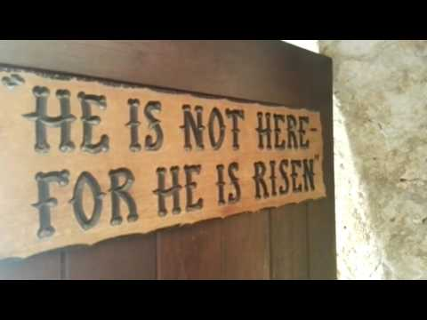 A tour of the tomb of Jesus (the Garden Tomb), Jerusalem