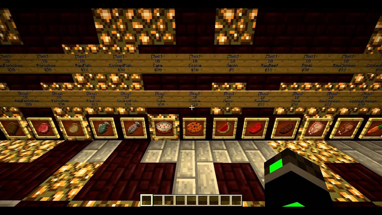 Pre made shop for your server youtube sciox Images