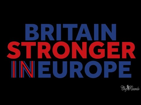 Britain Stronger in Europe !! Volunteer today for a stronger future for you and your family