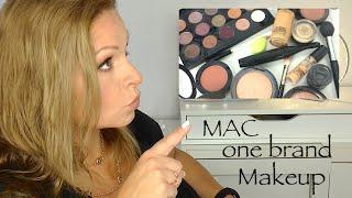 MAC one brand Makeup-Tutorial deutsch HD full face makeup Maccosmetics