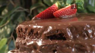 How To Make Double Layered Chocolate Cake