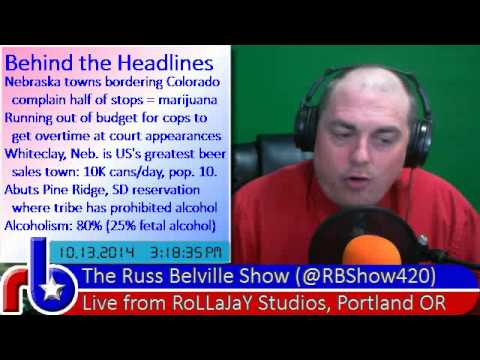 @RBShow420 #466 Behind the Headlines - A Columbus Day Look at Nebraska Weed Complaints