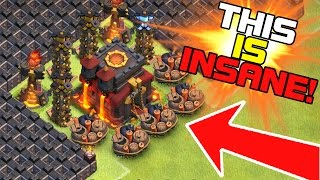 """THE FUNNIEST TROLL BASE EVER MADE IN CLASH OF CLANS!?!"" 