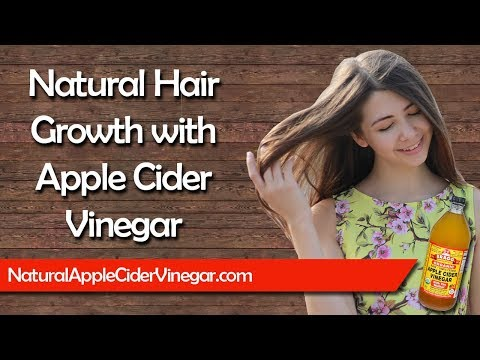 How to Enhance Hair Growth with apple Cider Vinegar