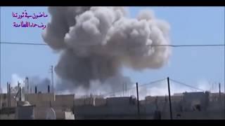 Сирия ВВС САР и ВКС РФ уничтожают террористов в Восточной Гуте пригорода Дамаск