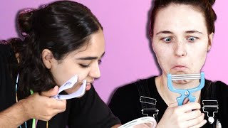 Women Test Facial Hair Removal Products