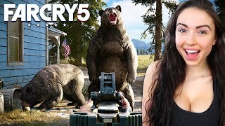 HUNTING + EXPLORING in FAR CRY 5!!